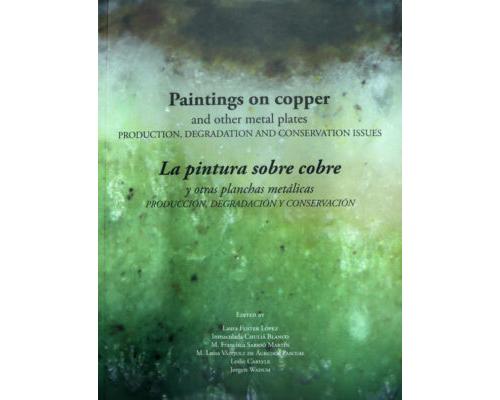 a pintura sobre cobre y otras planchas metálicas