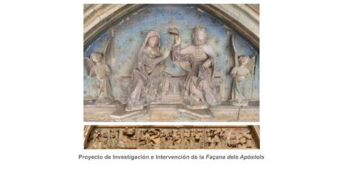 Proyecto de Investigación e Intervención de la Façana dels Apóstols
